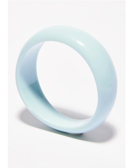 Sky Spreadin' Light Pastel Bangle