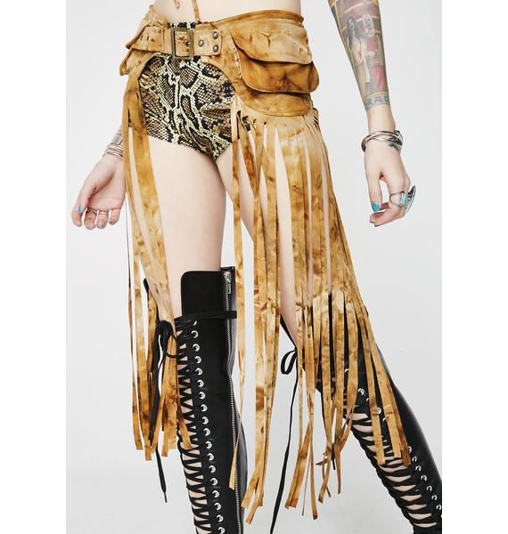 J Valentine Desert Dimension Fringe Belt
