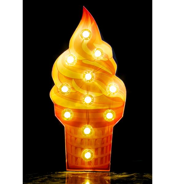 Soft Serve Marquee Light