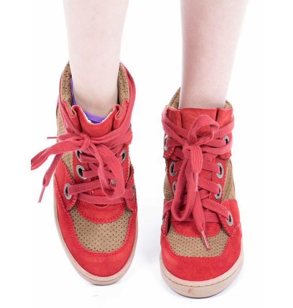MTNG Amberes Platform Sneakers