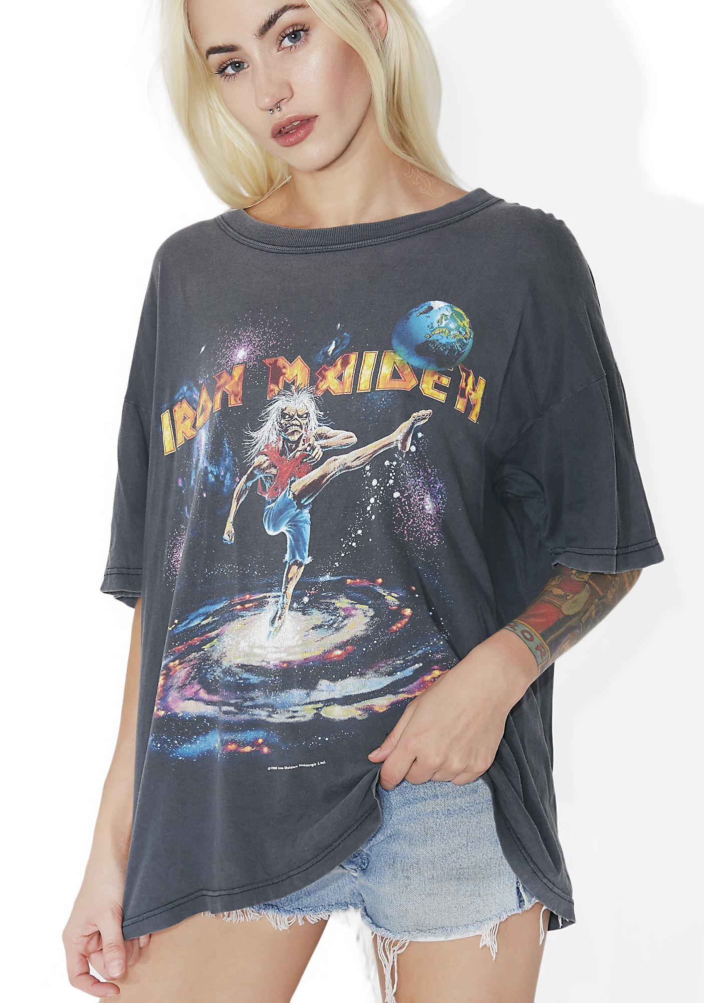 Vintage Iron Maiden Tour Tee