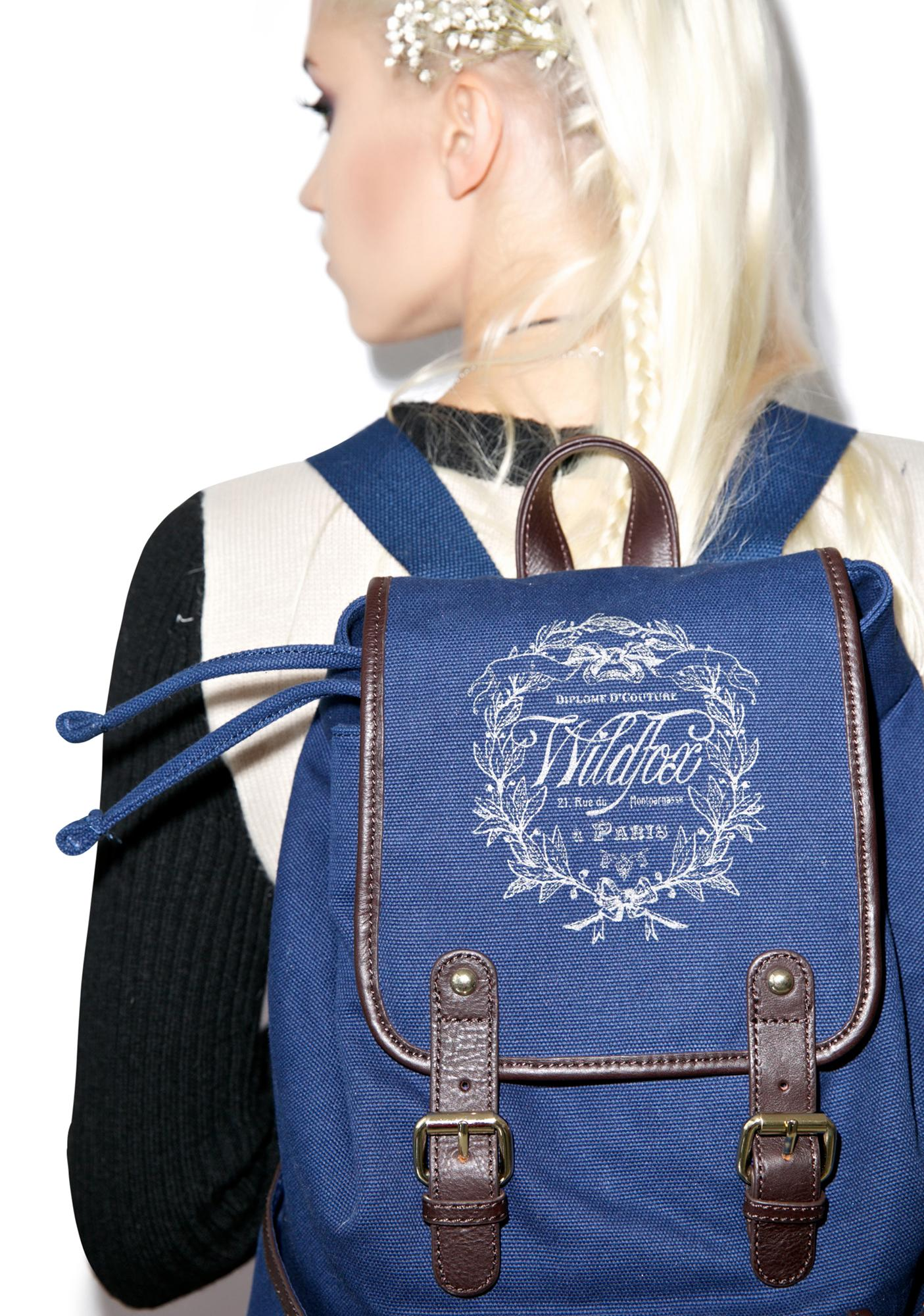 Wildfox Couture Paris Country Crest Backpack
