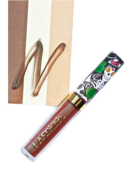 La Bella Muerte Metallic Liquid Lipstick