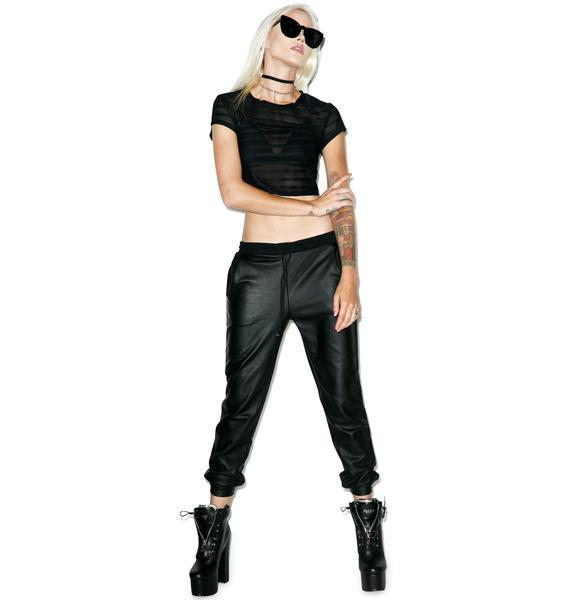 Mink Pink Darkest Dawn Track Pant