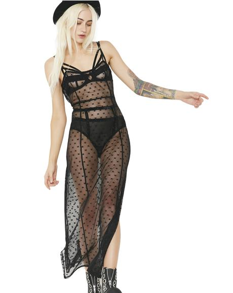 Twilight Dreamz Sheer Maxi Dress