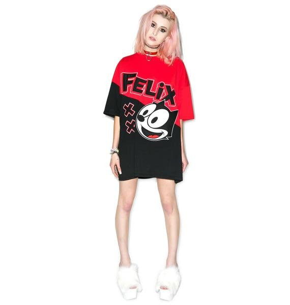 Joyrich Felix Color Block Big Tee