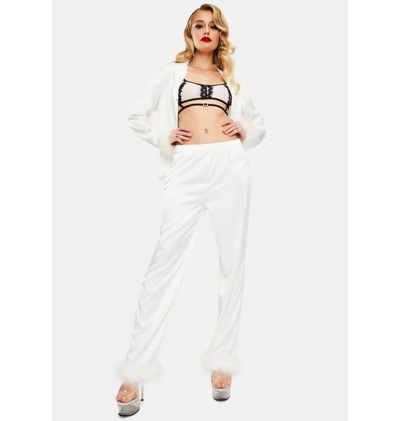 OW INTIMATES Sky Feather Pajamas Shirt