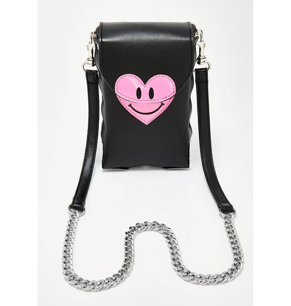 dELiA*s by Dolls Kill Love Emoticon Crossbody Bag