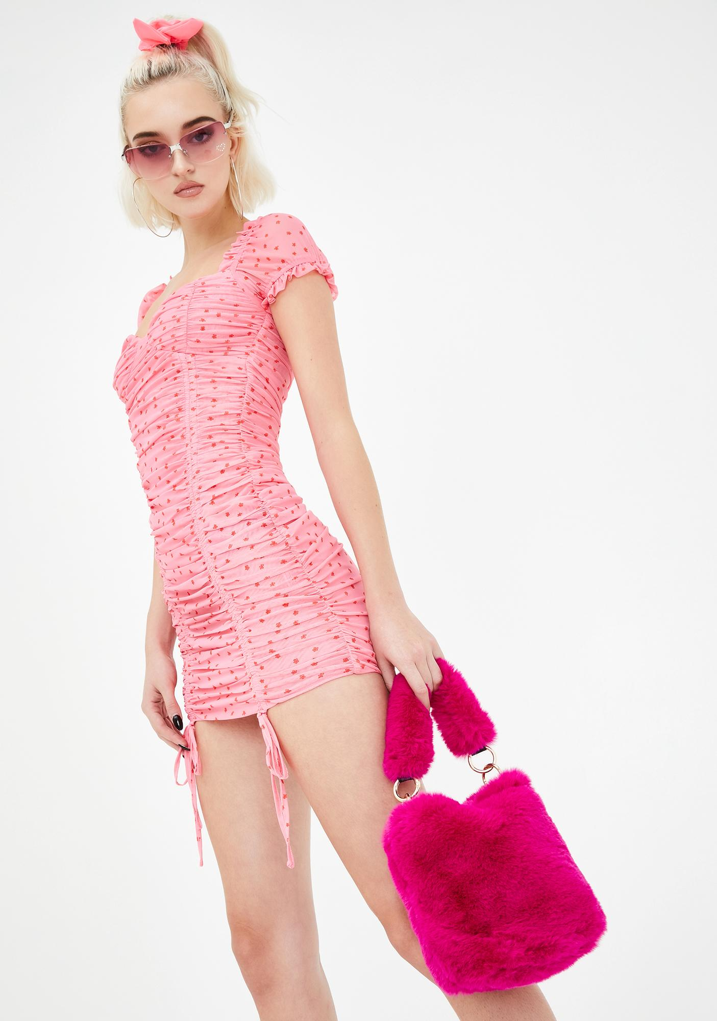 Plush Possessions Fuzzy Handbag