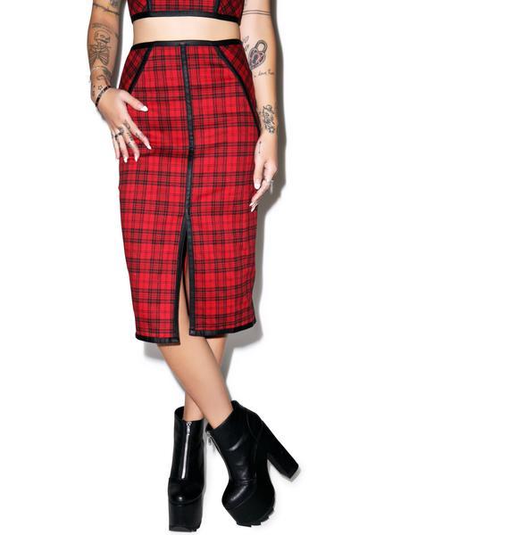 Paul Hunyan Pencil Skirt