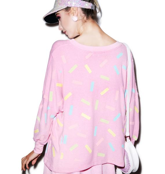 Wildfox Couture Sprinkles Nevada Jumper