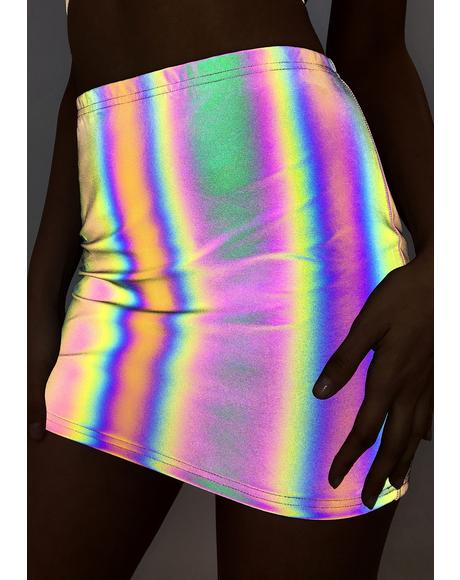 Freak Of Nature Reflective Skirt
