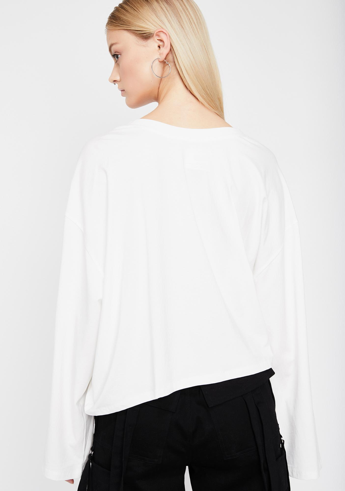 Purely Draped In Drama Wrap Top