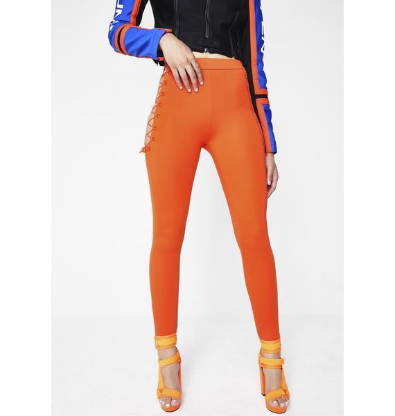 PUMA Tangy FENTY PUMA By Rihanna Side Lace Leggings