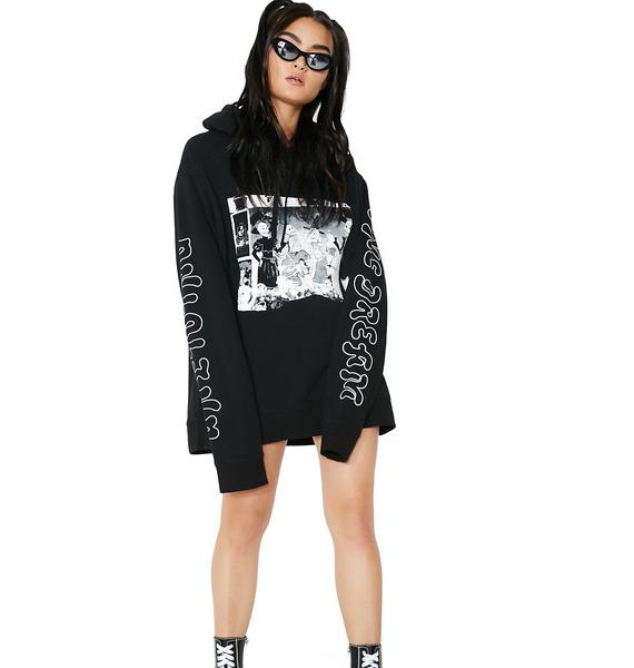 Cheap Monday Skull Party Pullover Hoodie
