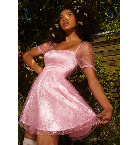 Sugar Thrillz Like A Charm Sparkle Dress