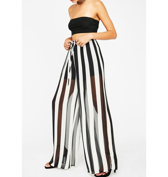 Lookin' For Trouble Sheer Pants