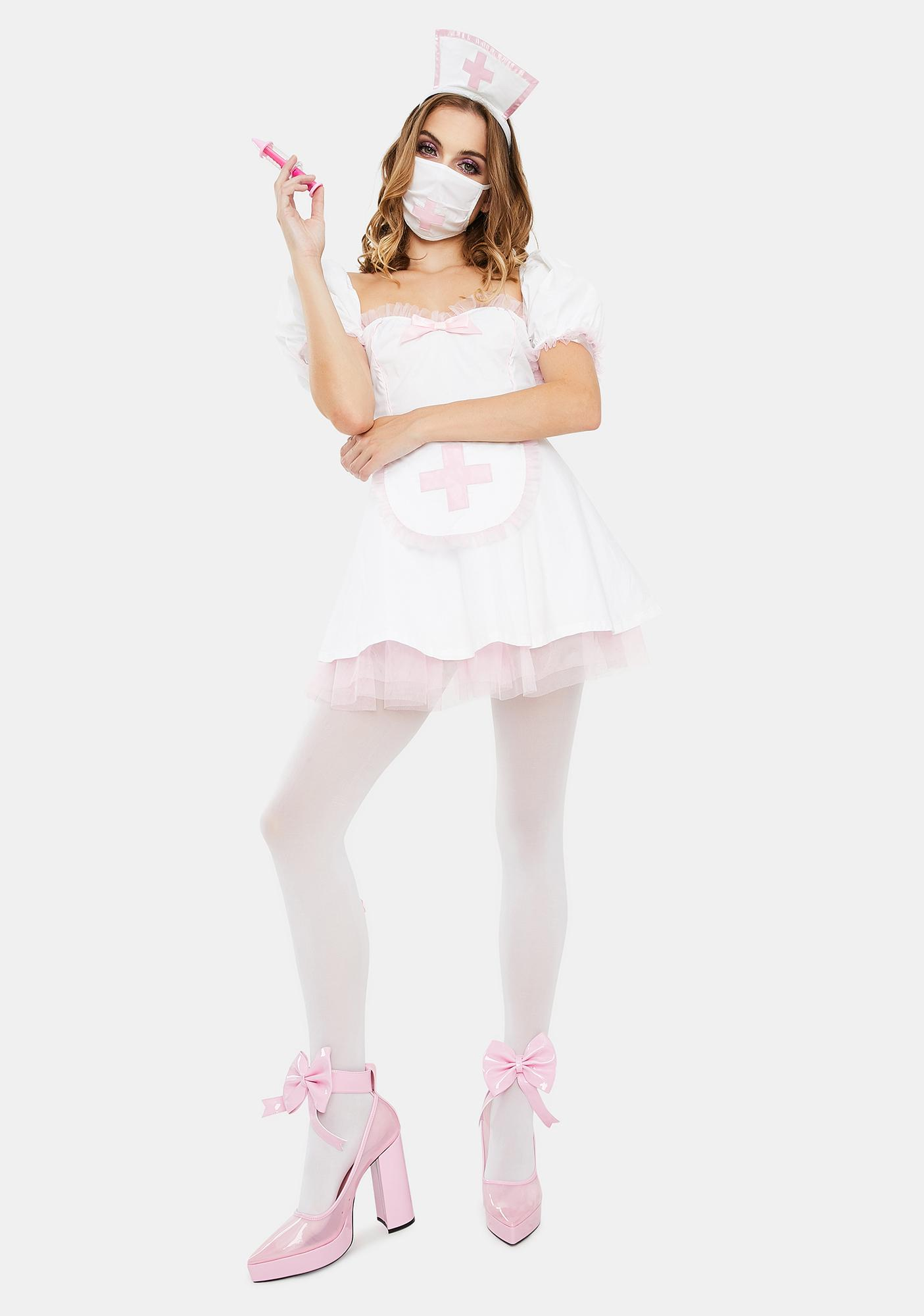 Trickz N' Treatz Heart Healer Nurse Costume