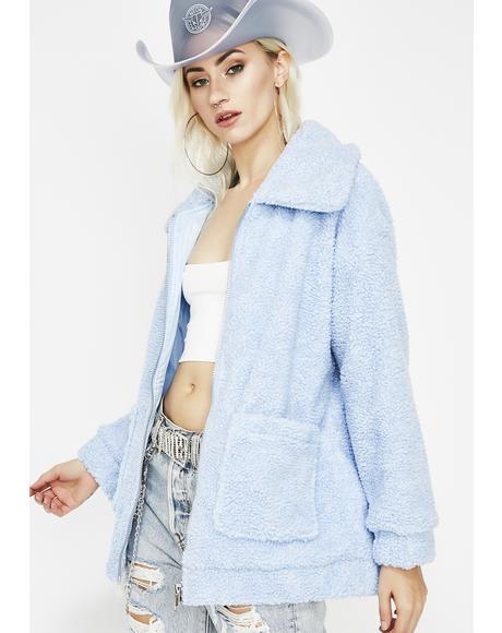 Arctic Foxx Fuzzy Jacket