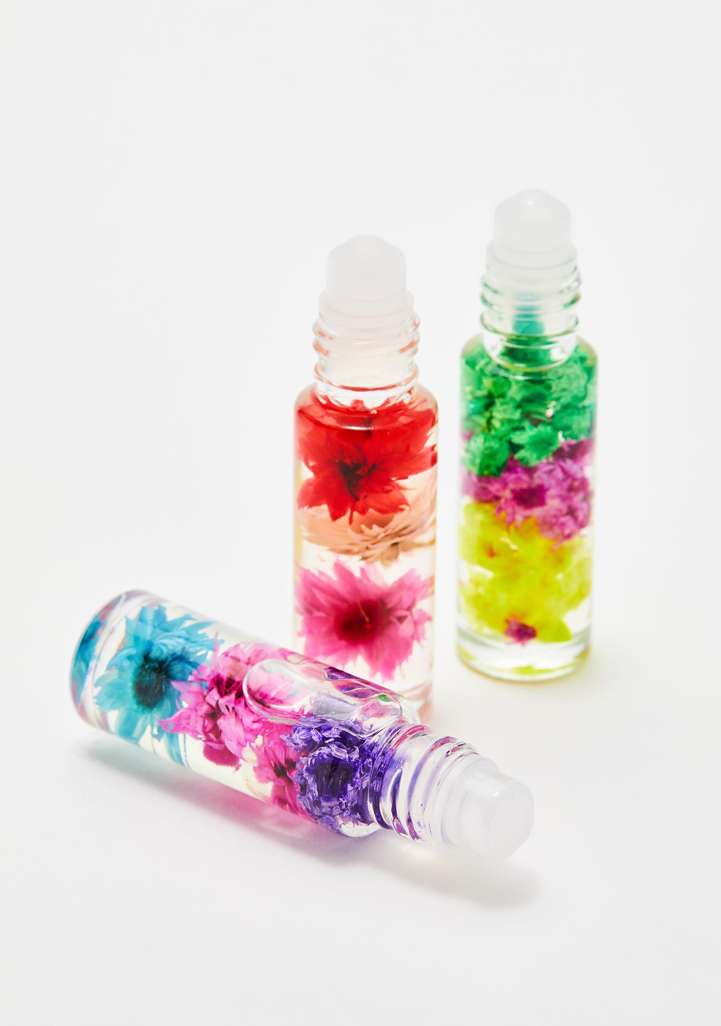 Blossom 3 Piece Perfume Oil Gift Set