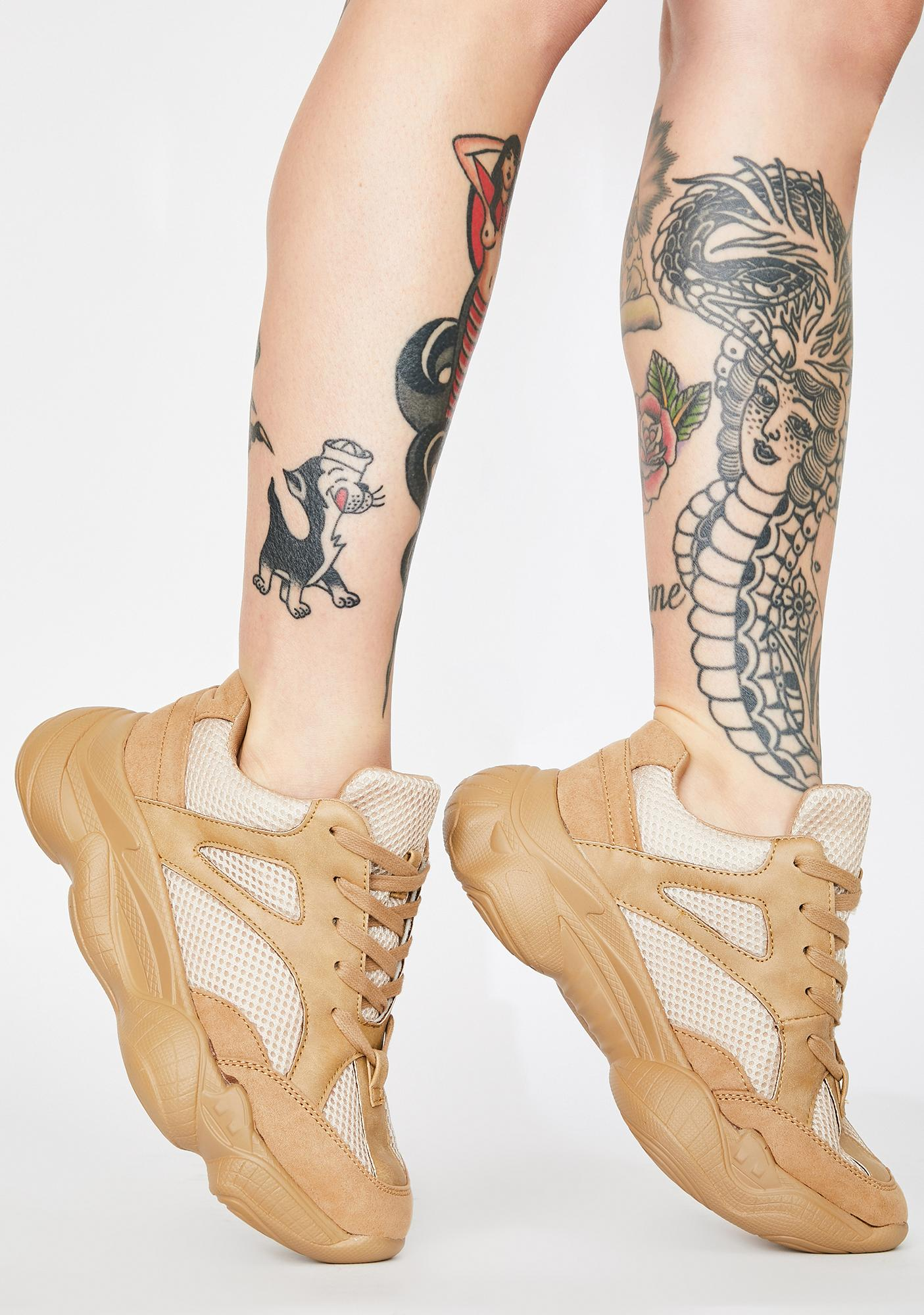 Public Desire Cade Chunky Sneakers