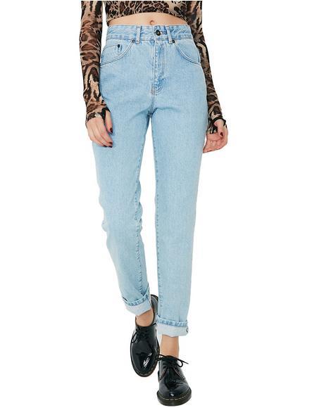 Butt Cut Denim Jeans
