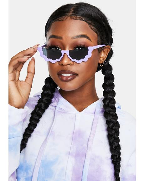 Lavender Groover Sunglasses