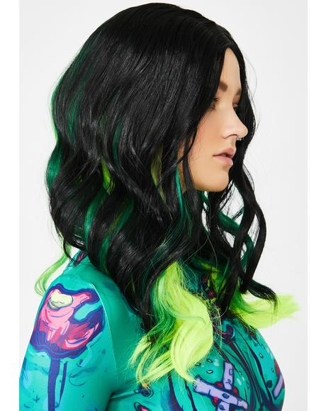 Poison Ivy Ombre Wig