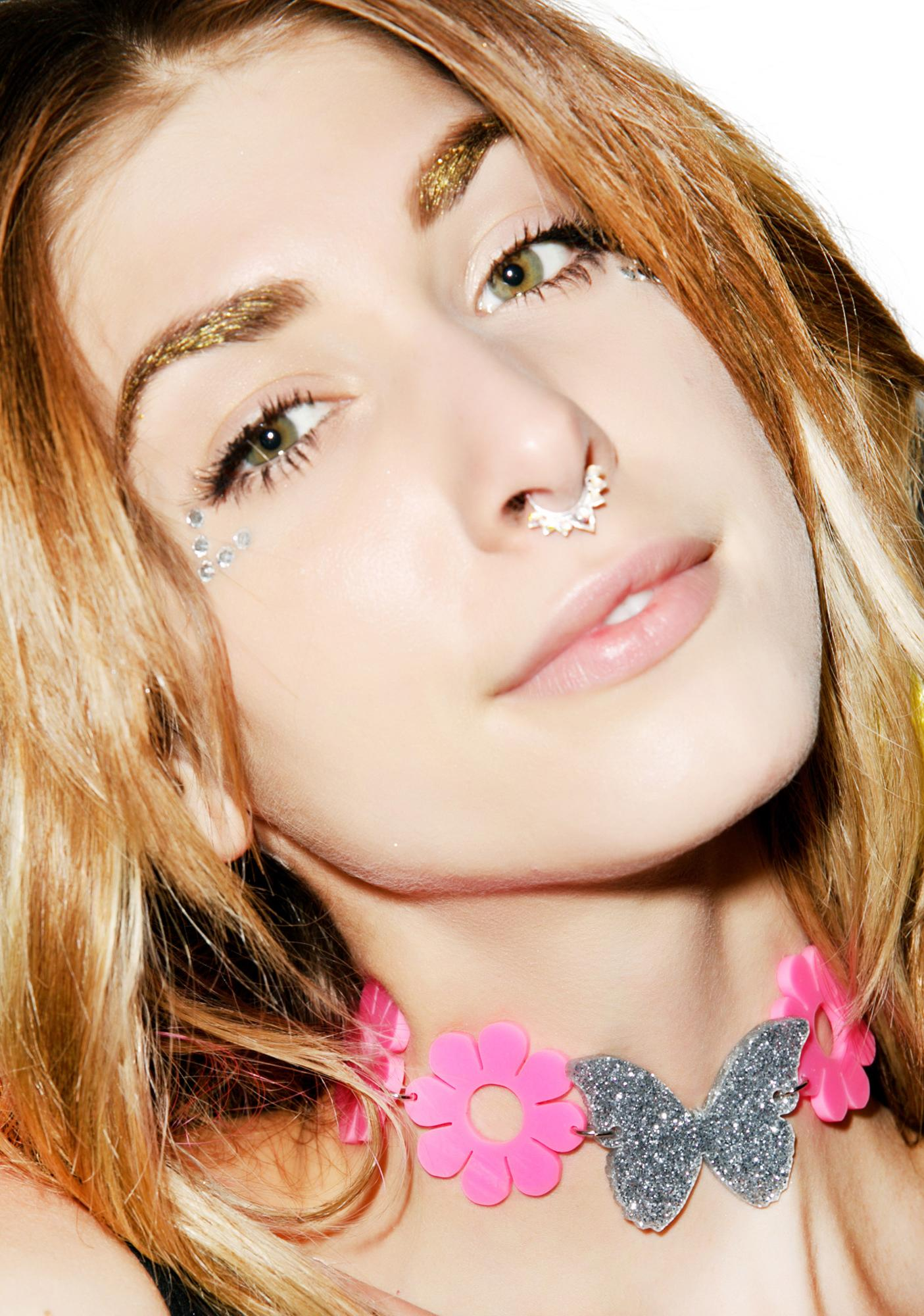 Marina Fini X Dolls Kill Butterfly Dreams Choker