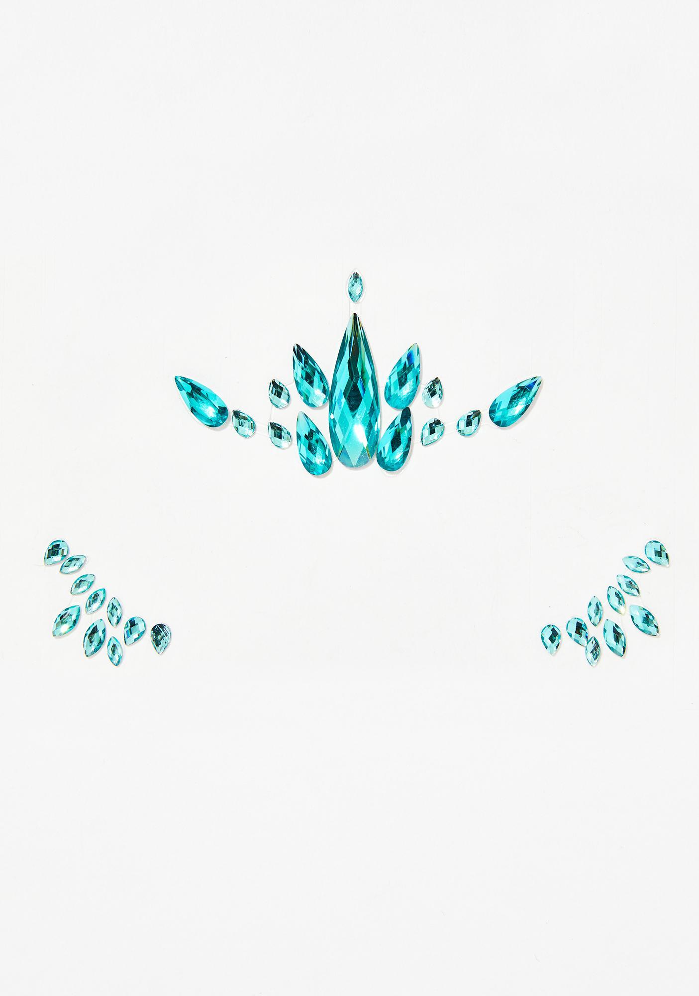 Mermaid Lightwerker Face Gems