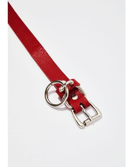 Truly Tempting Belt Choker