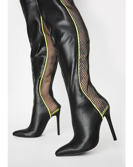 Brunner Thigh High Boots