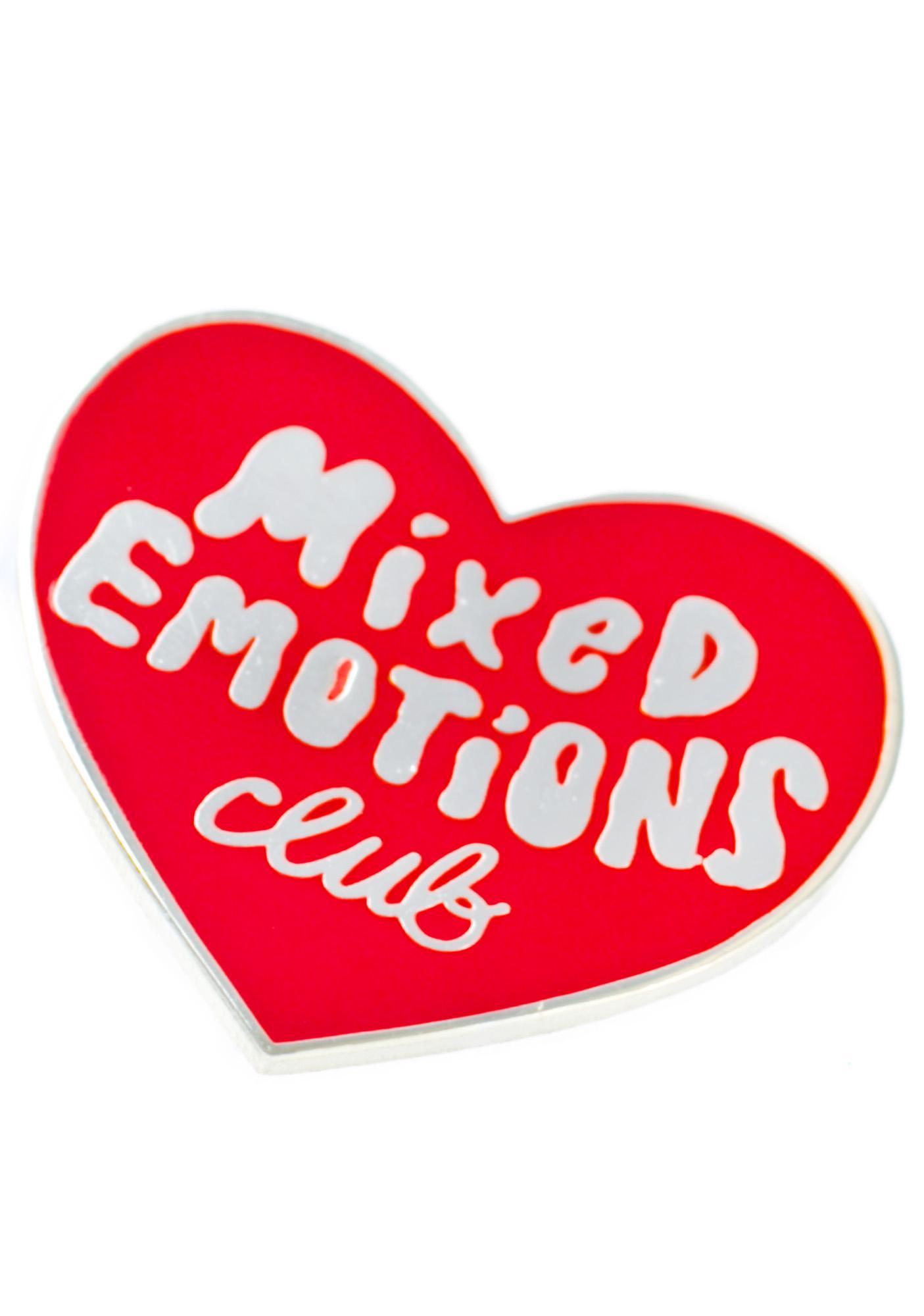 Tuesday Bassen Mixed Emotions Club Pin