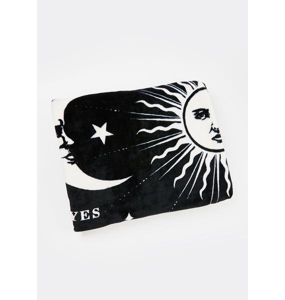 Killstar Not The End Fleece Blanket