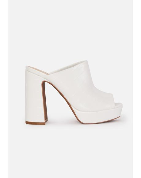 Bliss Best Intentions Mule Heels