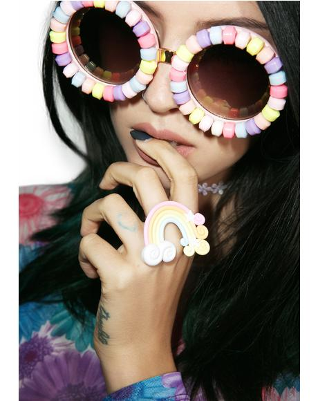 Pastel Rainbow Ring