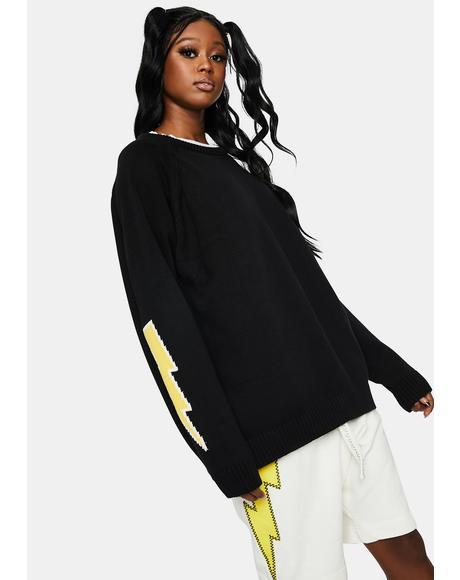 Bolt Knit Sweater