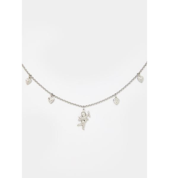 Heavenly Matchmaker Charm Necklace