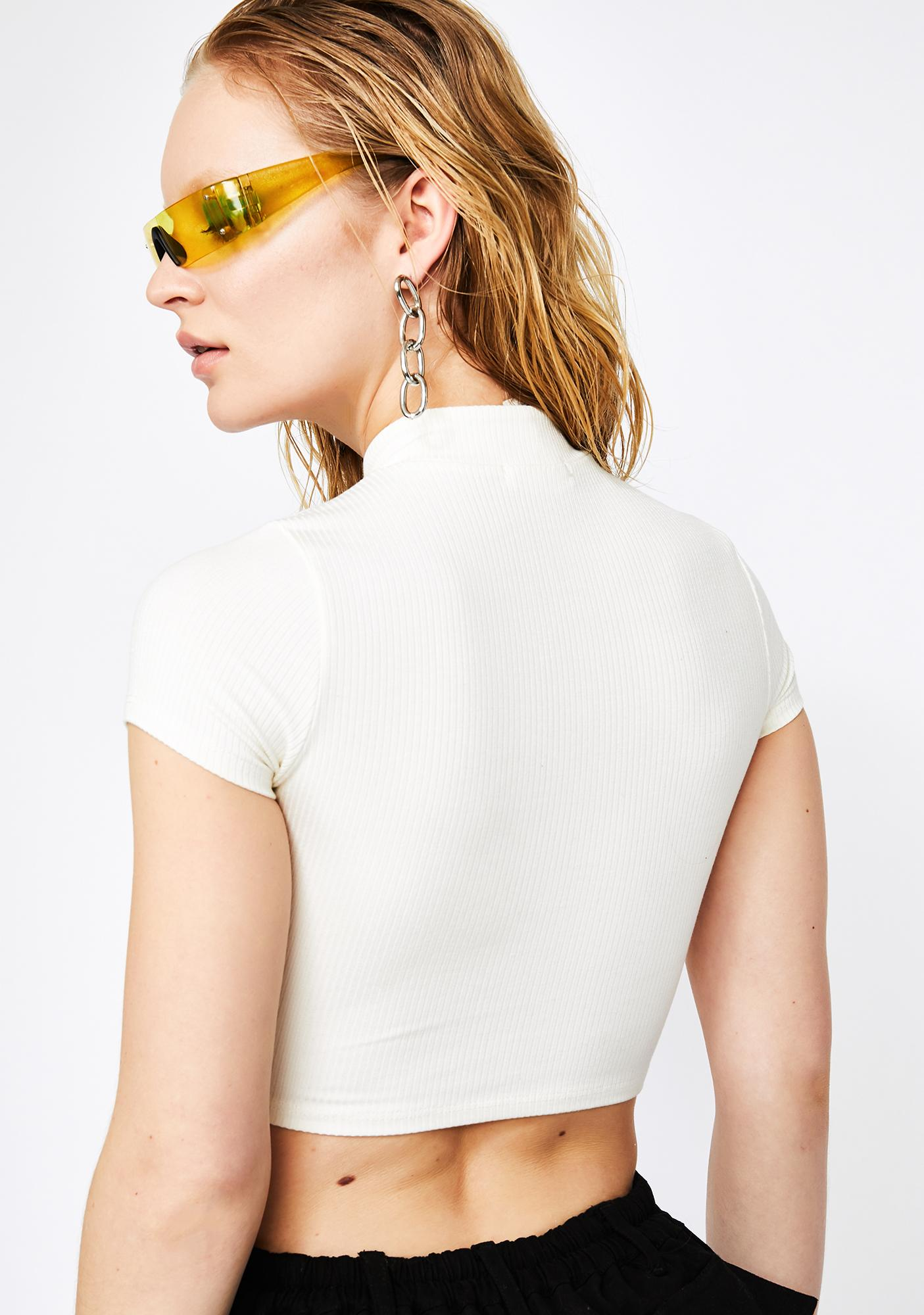 Pure Nonstop Shade Cut Out Top