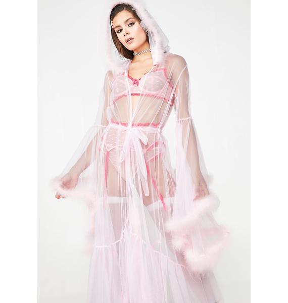 Sugar Thrillz Pixie Luxxx Feathered Robe