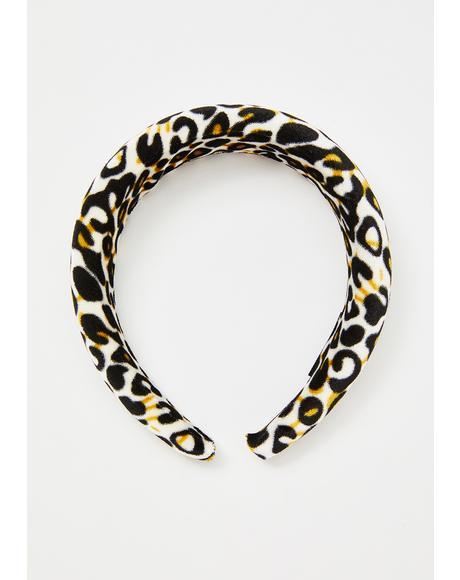 Here Kitty Kitty Leopard Headband
