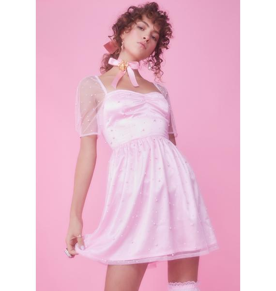 Sugar Thrillz Princess Lockdown Babydoll Dress