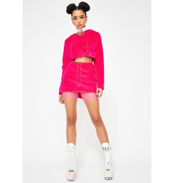 Club Exx Furreak Animali Mini Skirt