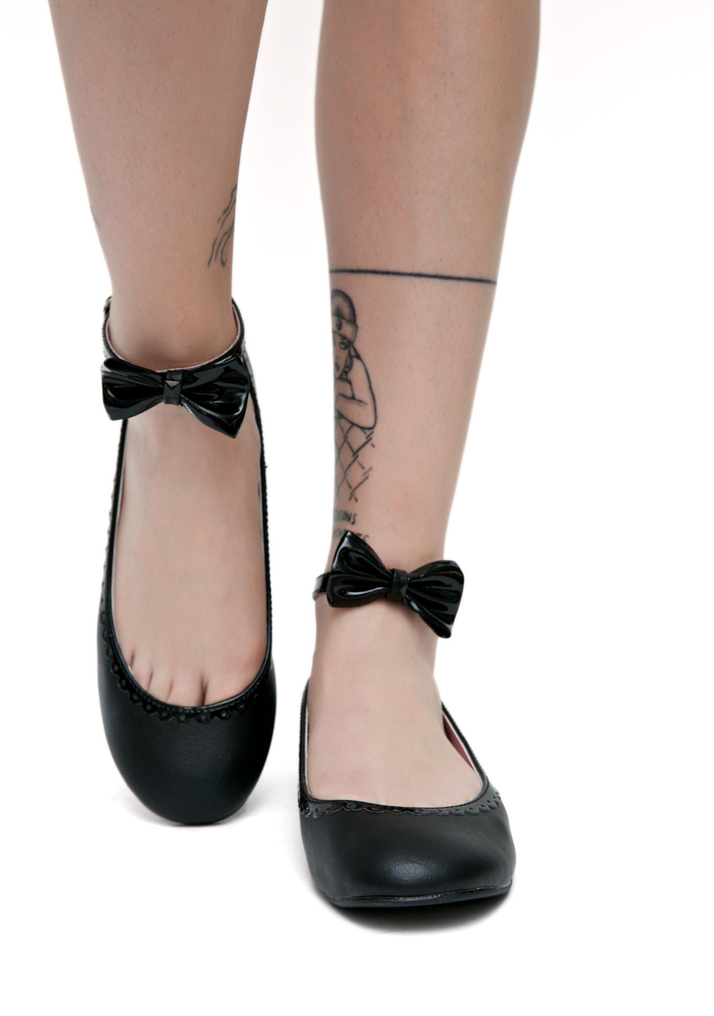 Demonia Take A Bow Flats