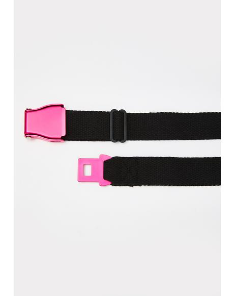 Cut It Out Buckle Belt