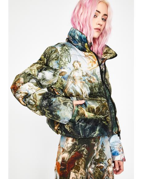 Da Vinci's Demons Puffer Jacket
