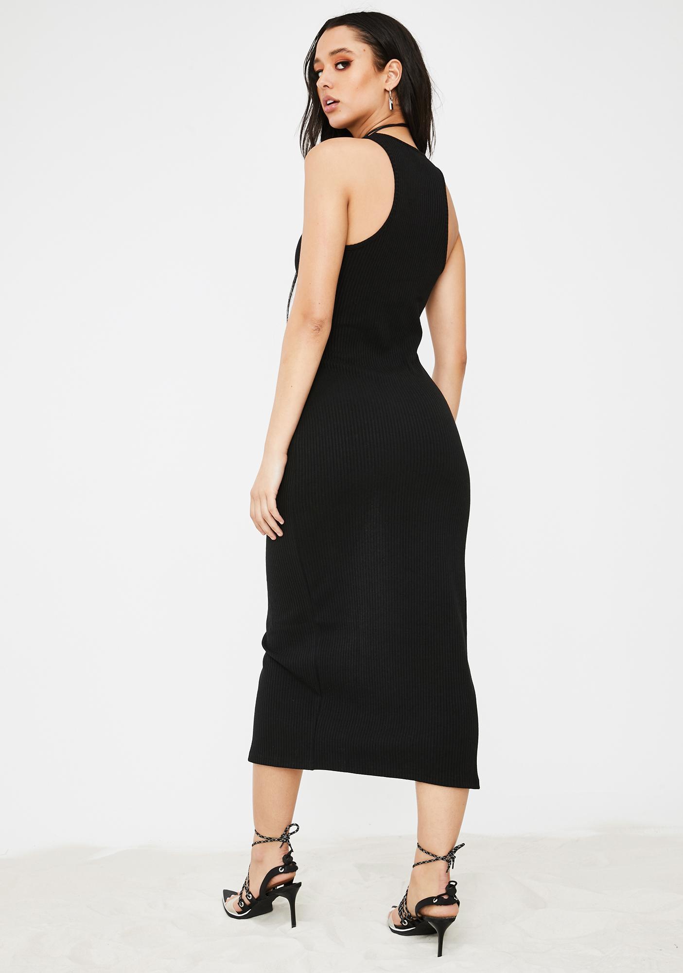 Poster Grl I'm A Natural Midi Dress