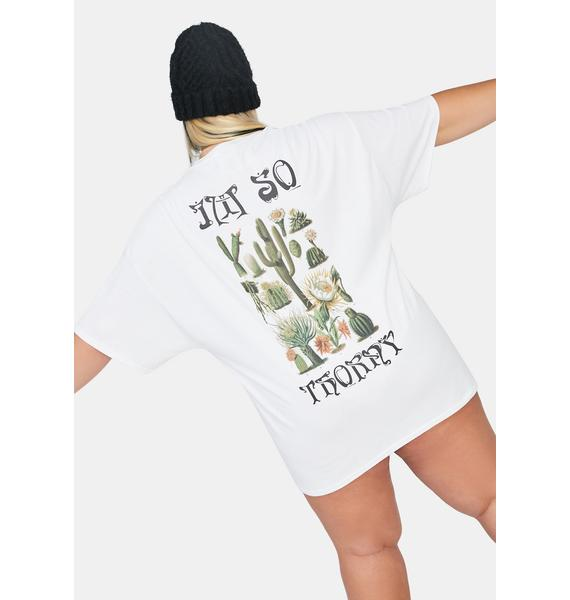NEW GIRL ORDER Plus Thorny Graphic Tee