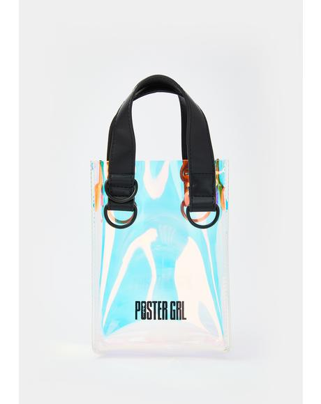 Splash Zone Iridescent Crossbody Purse