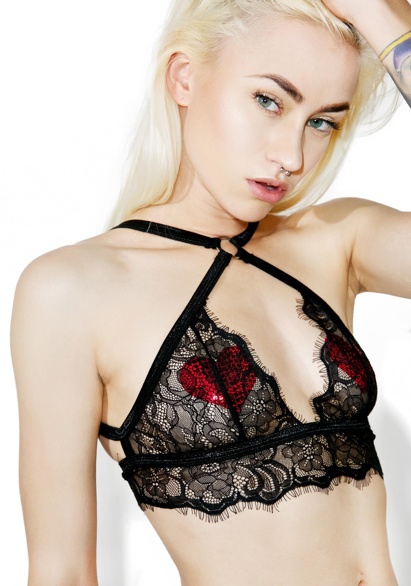 Unwrap Me Lace Lingerie Set